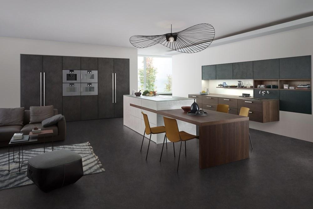 Topos Concrete Concrete Kitchen Design Leicht